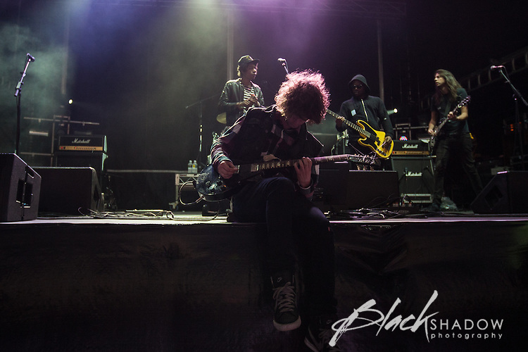 Cerebral Ballzy performing at Soundwave Festival 2013, Flemington Racecouse, Melbourne, 1 March 2013