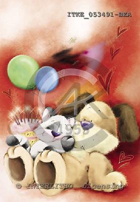 Isabella, CUTE ANIMALS, paintings, ITKE053491-BEA,#ac# illustrations, pinturas ,everyday