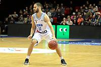 GRONINGEN - Basketbal, Donar - Feyenoord, Dutch Basketbal league, seizoen 2018-2019, 28-10-2018, Donar speler Shane Hammink