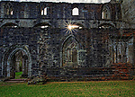 Dunkeld Cathedral is located in the town of Dunkeld and has a cemetery located within the ruins of the original cathedral.