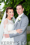 Christina McSweeney, Mastergeeha, Kilcummin, daughter of Don and Noreen, and Shane McGrath, Baunfune, Kilmanahan, Co Waterford, son of John and Anne, who were married in Our Lady of Lourdes church, Kilcummin on Friday, Fr Joe Begley officiated at the ceremony, best man was derek McGrath, groomsmen were PJ Mulcahy, and James Gough, bridesmaids were Fiona McSweeney, Mary Clare Cuddy and Claire Marie Fogarty, the reception was held in the Malton Hotel and the couple will reside in Waterford