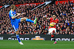 Angel di Maria of Manchester United puts in a cross - Manchester United vs. Sunderland - Barclay's Premier League - Old Trafford - Manchester - 28/02/2015 Pic Philip Oldham/Sportimage
