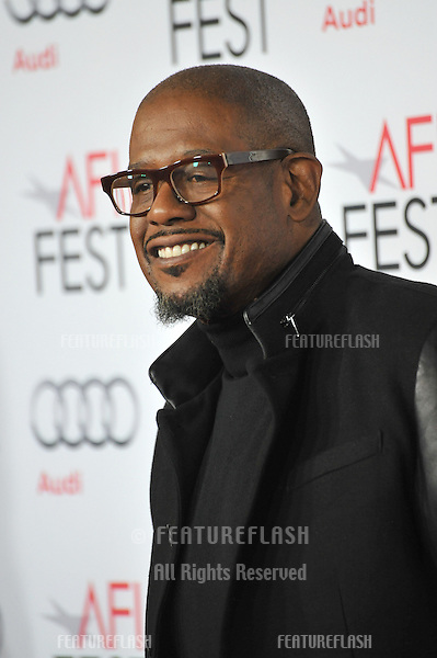 Forest Whitaker at the Los Angeles premiere of his movie &quot;Out of the Furnace&quot;, part of the AFI Fest 2013, at the TCL Chinese Theatre, Hollywood.<br /> November 9, 2013  Los Angeles, CA<br /> Picture: Paul Smith / Featureflash