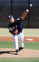 Michael Watt   - San Diego Padres - 2009 spring training.Photo by:  Bill Mitchell/Four Seam Images