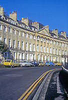 Bath: Camden Crescent, 1788. Design attributed to John Eveleigh.