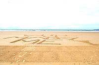 East......Gill Roberts story....<br /> Monday 7th July 2014.....<br /> Ysbryd y Mor resident Anita Hanney who witnessed a man spell out the words Will U Marry Me! X on the beach at Aberavon before proposing to his girlfriend on the beach.<br /> <br /> Contact 01639 887720