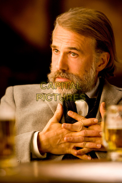 Christoph Waltz .in Django Unchained (2012) .*Filmstill - Editorial Use Only*.CAP/NFS.Supplied by Capital Pictures.