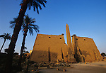 Luxor Temple, Ramesside pylons, colossal statues, and Ramses II obelisk,Tutankhamun and the Golden Age of the Pharaohs, Page 82-83
