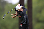 CHAPEL HILL, NC - OCTOBER 13: NC State's Cecily Overbey on the 10th tee. The first round of the Ruth's Chris Tar Heel Invitational Women's Golf Tournament was held on October 13, 2017, at the UNC Finley Golf Course in Chapel Hill, NC.