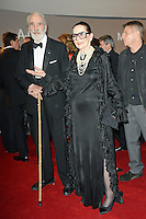 """Sir Christopher and Lady Lee attending the """"Rosenball"""" Charity Gala in favor of the """"Stiftung Deutsche Schlaganfallhilfe"""" held at the Hotel Intercontinental in Berlin, Germany, 09.06.2012..Credit: Michael Timm/face to face /MediaPunch Inc. ***FOR USA ONLY*** NORTEPHOTO.COM"""