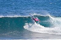 Margaret River, Western Australia.  (Tuesday, April 5, 2011). Owen Wright (AUS). The Six Star Prime Telstra Drug Aware Pro continued  with the Round of 24 of the  Women's competition before commencing the Men's competition with eight heats of the Round of 96. The contest is the biggest surfing event ever held in Western Australia with 26 out of the Top 32 ranked surfers in the world competing.- Photo: joliphotos.com