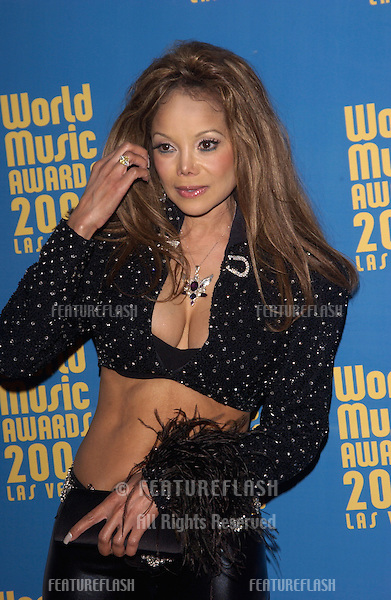 Singer LATOYA JACKSON at the 16th Annual World Music Awards at the Thomas and Mack Centre, Las Vegas..September15, 2004