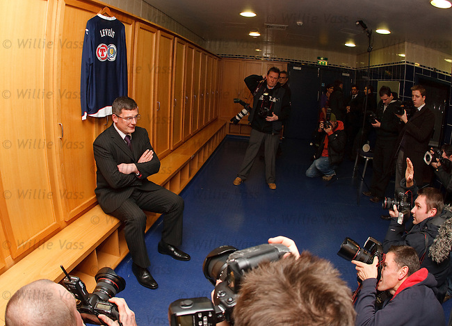 Craig Levein unveiled at Hampden as the new manager of Scotland