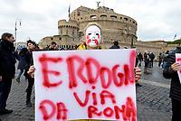 Erdogan a Roma, proteste