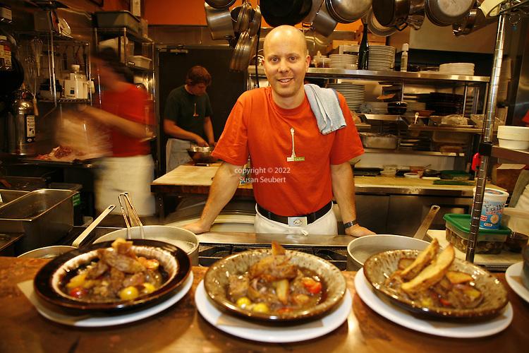 Scott Dolick, chef at Park Kitchen Restaurant, Portland, Oregon