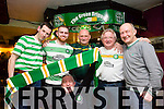 Members of  Celtic Supporters Club enjoying a night out at the greyhound bar on Thursday  Keith Gallagher, Joe Casey, Michael Gallaher, Paul Williams, John Collins and Pat Houston