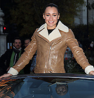 London, UK - Jessica Ennis at photocall to announce she is to drive the all new F-Type Jaguar car in the 2012 Lord Mayor's Show held on 10th of November - 1st November 2012..Photo by Keith Mayhew