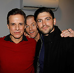 The Young and The Restless - Genoa City Live celebrating over 40 years -  Christian Jules LeBlanc, Sean Carrigan and Robert Adamson on February 20, 2016 at the Wellmont Theatre, Montclair, NJ. on stage with questions and answers hosted by Christian and Sean followed with autographs and photos in the theater.  (Photo by Sue Coflin/Max Photos)