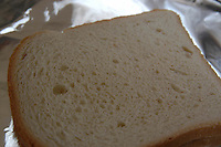 Fetta di pane. Slice of bread..