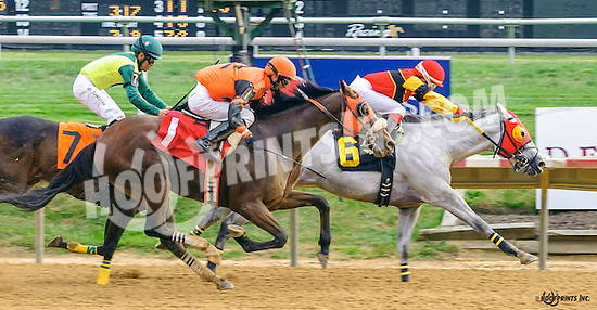 Coca a Doodle Doo winning at Delaware Park on 9/24/16