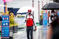 11th July 2020; Styria, Austria; FIA Formula One World Championship 2020, Grand Prix of Styria qualifying sessions;  99 Antonio Giovinazzi ITA, Alfa Romeo Racing ORLEN, arrives under rainy conditions