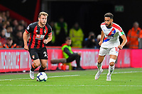 Ryan Fraser of AFC Bournemouth brings the ball away from Andros Townsend of Crystal Palace during AFC Bournemouth vs Crystal Palace, Premier League Football at the Vitality Stadium on 1st October 2018