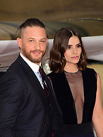 www.acepixs.com<br /> <br /> July 13 2017, London<br /> <br /> Tom Hardy &amp; Charlotte Riley arriving at the world premiere of 'Dunkirk' at the Odeon Leicester Square on July 13, 2017 in London, England<br /> <br /> By Line: Famous/ACE Pictures<br /> <br /> <br /> ACE Pictures Inc<br /> Tel: 6467670430<br /> Email: info@acepixs.com<br /> www.acepixs.com