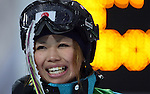 VANCOUVER, BC - FEBRUARY 13:  Arisa Murata of Japan during the Women's Freestyle Mogul Prelims at the 2010 Vancouver Winter Olympics at Cypress Mountain  on February 13, 2010 in Vancouver, Canada. (Photo by Donald Miralle)
