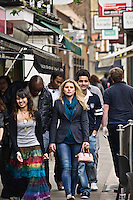 Photos for Kingston University  London international student brochures and prospectuses.??Lively and historic environment - Apple market, quaint narrow street.??Date Taken: 19/04/10??Location: ??Contact:??Commissioned by:  Kingston University - Emma Carlino?Emma Carlino.International Marketing Communications Manager.International Centre.Kingston University London.Swan Wing, River House.53-57 High Street.Kingston upon Thames.London.KT1 1LQ.UK.Tel: +44(0)20 8417 3006.Fax: +44(0)20 8417 3028.Email: e.carlino@kingston.ac.uk.Website: www.kingston.ac.uk/international