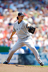 18 June 2006: Chien-Ming Wang, pitcher for the New York Yankees, on the mound against the Washington Nationals at RFK Stadium, in Washington, DC. The Nationals defeated the Yankees 3-2 in the third game of the interleague series...Mandatory Photo Credit: Ed Wolfstein Photo...