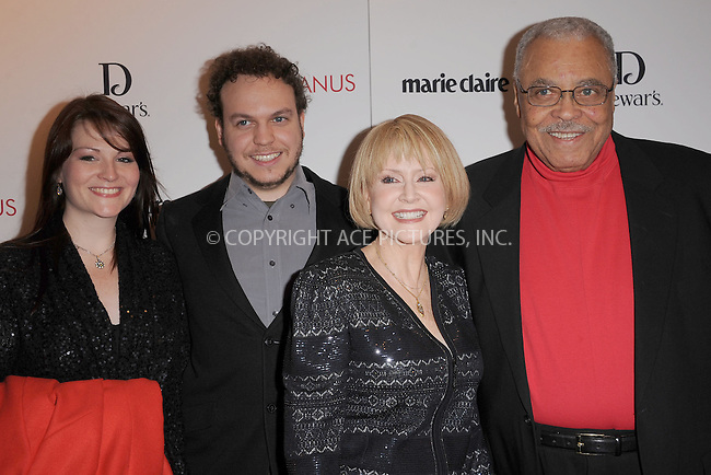 "WWW.ACEPIXS.COM . . . . . .January 17, 2012, New York City....James Earl Jones and his family attend Chopard & Dewar's New York Premiere of The Weinstein Company's ""Coriolanus"" at the  Paris Theatre on  January 17, 2012  in New York City ....Please byline: KRISTIN CALLAHAN - ACEPIXS.COM.. . . . . . ..Ace Pictures, Inc: ..tel: (212) 243 8787 or (646) 769 0430..e-mail: info@acepixs.com..web: http://www.acepixs.com ."