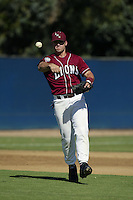 Jon Oller of the Loyola Marymount Lions during a game at Page Stadium on March 19, 2003 in Los Angeles, California. (Larry Goren/Four Seam Images)