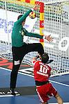 Niklas Landin vs Gergely Harsanyi. DENMARK vs HUNGARY: 28-26 - Quarterfinal.