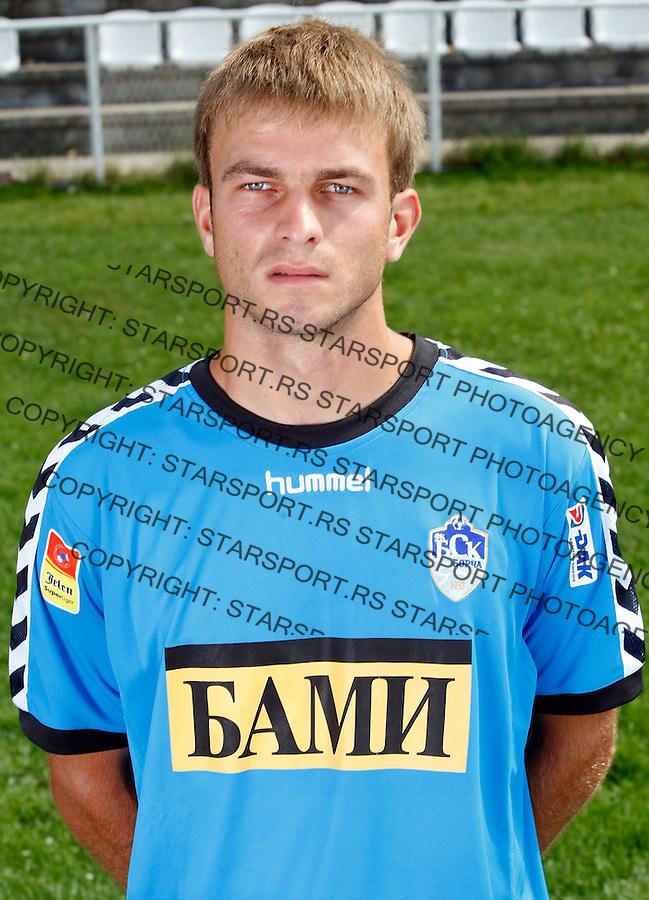 Fudbal, .FK BSK Borca.Milos Milivojevic.Team photo session.Beograd, 04.09.2009..foto: Srdjan Stevanovic/Starsportphoto ©