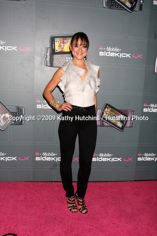 Camille Guaty arriving at the  T-Mobile Sidekick LX Launch Event at  Paramount Studios in.in Los Angeles, CA on May 14, 2009 .©2009 Kathy Hutchins / Hutchins Photo...                .