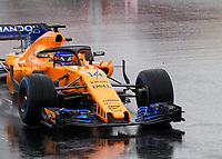 FERNANDO ALONSO (ESP) of McLaren during Day 3 of the 2018 Formula 1 Testing at the Circuit de Catalunya, Barcelona. on 28 February 2018. Photo by Vince  Mignott.