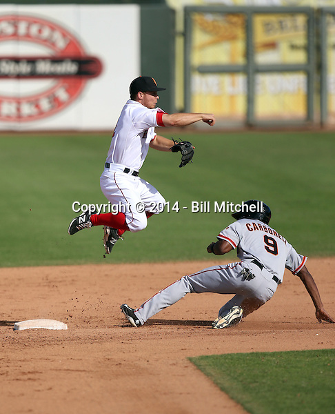 Sean Coyle - Surprise Saguaros - 2014 Arizona Fall League (Bill Mitchell)