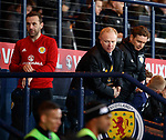 23.3.2018: Scotland v Costa Rica:<br /> James McFadden, Alex McLeish and Peter Grant at FT