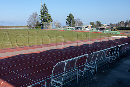 21.03.2016. Stade Camille-Fournier, Evian, France. Euro 2016 hotel and training facilities for the German mens national football team.