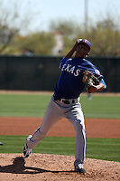 Israel Cruz - Texas Rangers 2016 spring training (Bill Mitchell)