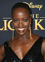 "09 July 2019 - Hollywood, California - Florence Kasumba. Disney's ""The Lion King"" Los Angeles Premiere held at Dolby Theatre. Photo Credit: Birdie Thompson/AdMedia"