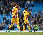 Dejected Damien Delaney of Crystal Palace at the end of the match during the English Premier League match at the Etihad Stadium, Manchester. Picture date: May 6th 2017. Pic credit should read: Simon Bellis/Sportimage