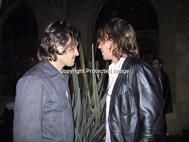 Vincent Gallo & Val Kilmer.ABSOLUT STELLA.ABSOLUT and Famed Fashion Designer Stella McCartney Colaborate To Create Exclusive New Advertising Campaign.Chateau Marmont Hotel.West Hollywood, CA, USA.Thursday, October 17, 2002.Photo By Celebrityvibe.com