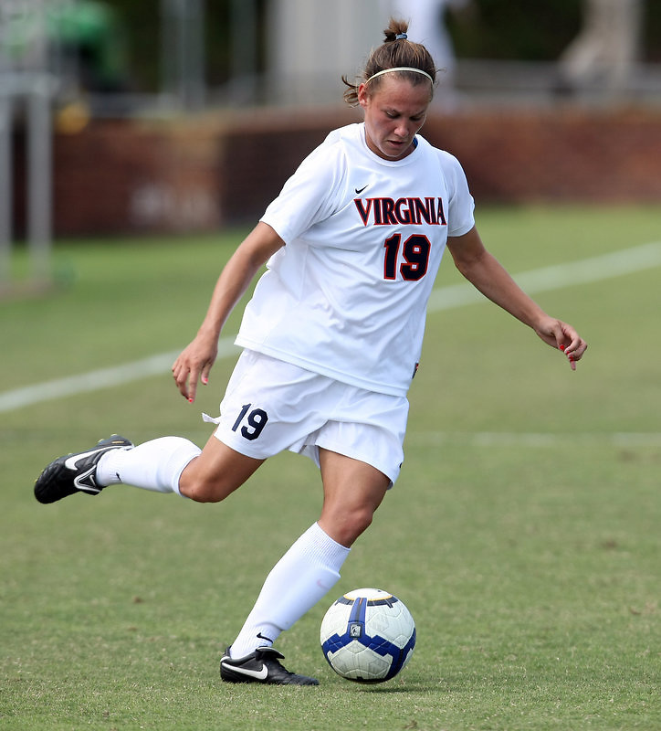 Virginia women's soccer beat Seton Hall 4-0 at Klockner Stadium. Photo/Andrew Shurtleff