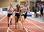 NAPERVILLE, IL - MARCH 11: Illinois Wesleyan's Madison Zimmer competes in the women's 400 meter dash at the Division III Men's and Women's Indoor Track and Field Championship held at the Res/Rec Center on the North Central College campus on March 11, 2017 in Naperville, Illinois. (Photo by Steve Woltmann/NCAA Photos via Getty Images)