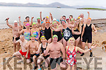 Ready for the water at their 12 days of Christmas swim on New Years Day in Fenit.<br /> Kneeling l to r: John Creagh, Noel Ryan, Mags O'Sullivan and Kevin Williams