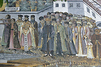 BG51498.JPG BULGARIA, BATCHKOVO MONASTERY, Refectory, 1601, frescoes