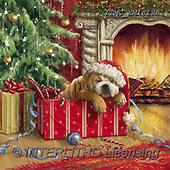 Marcello, CHRISTMAS ANIMALS, WEIHNACHTEN TIERE, NAVIDAD ANIMALES, paintings+++++,ITMCXM1819A,#XA# ,fireplace