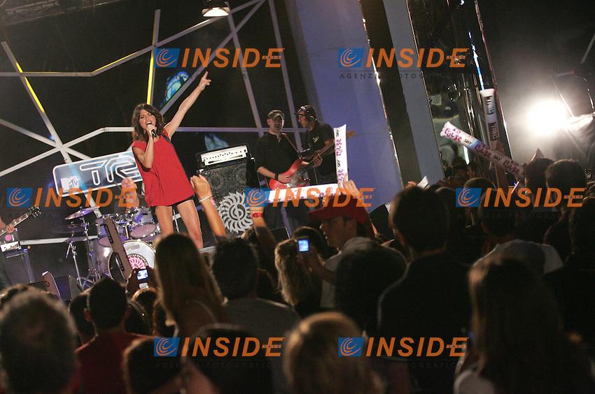 Roma 17/07/2009.TRL - Total Request Live - Concerto di Dolcenera.13th Fina swimming World Championship.Village Roma 2009.Photo Pool Roma2009.com/Insidefoto/Sea&Sea.