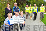 Volunteers from the Friends of Kenya who are holding a charity walk at kate Kearney's Cottage on Sunday 15th September front l-r: Maria O'Connor, Tony O'Connor, Kate Fleming. Back row: Mary Moynihan, Mike Favier, James O'Connor, Joan Burke, Paddy O'Sullivan and Tom O'Connor